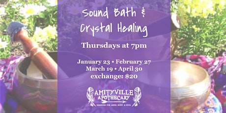 Community Sound Bath & Crystal Healing tickets