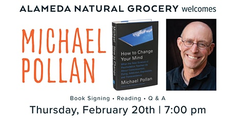 """Michael Pollan Talks """"How to Change Your Mind"""" tickets"""