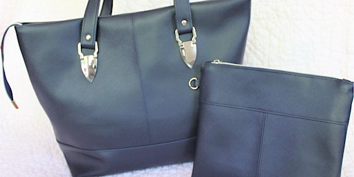 Bag Making workshop - learn how to design and create bags with faux leather