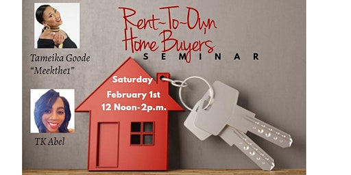 Rent-to-Own Homebuyers Seminar
