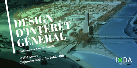 "Apéro Workshop ""Design d'Intéret Général"" billets"