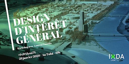 """Apéro Workshop """"Design d'Intéret Général"""""""