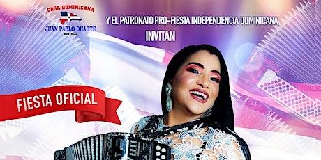 Maria Diaz y su agrupacion Tipica celebrando la  Independencia Dominicana tickets