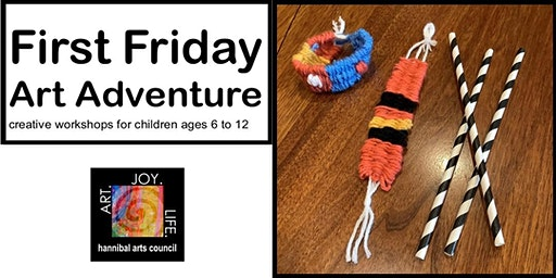 First Friday Art Adventure: Kente Cloth Bracelet