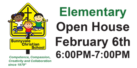 Elementary Open House tickets