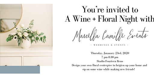 Floral + Wine Night