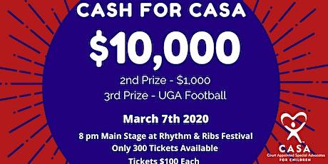 2020 Cash for CASA tickets