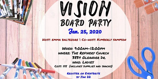 Vision Board Party for Women