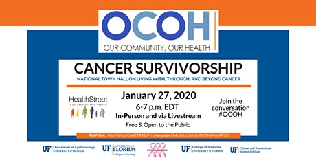 Our Community, Our Health (OCOH) National Town Hall: Cancer Survivorship tickets