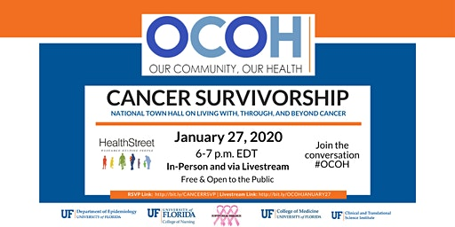 Our Community, Our Health (OCOH) National Town Hall: Cancer Survivorship