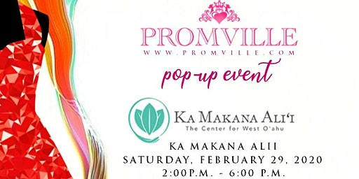 Promville 2020 Prom Pop-Up Event Experience (West Oahu)