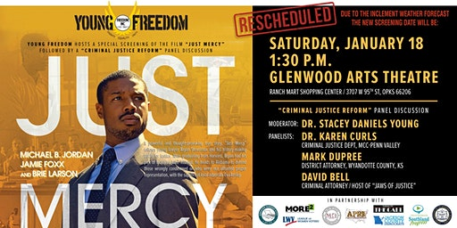 Private Screening: Just Mercy hosted by Young Freedom Inc.