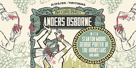 Anders Osborne's Bacchus Party tickets