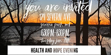 Health and Hope Evening tickets