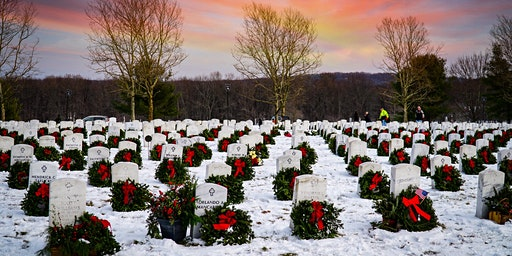 Wreaths Across America Connecticut State Veterans Cemetery 2020