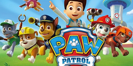 Paw Patrol Toddler Time tickets