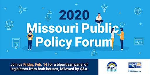 2020 Missouri Public Policy Forum