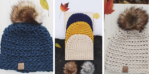 Crochet a Hat or Cowl at Willow Farm