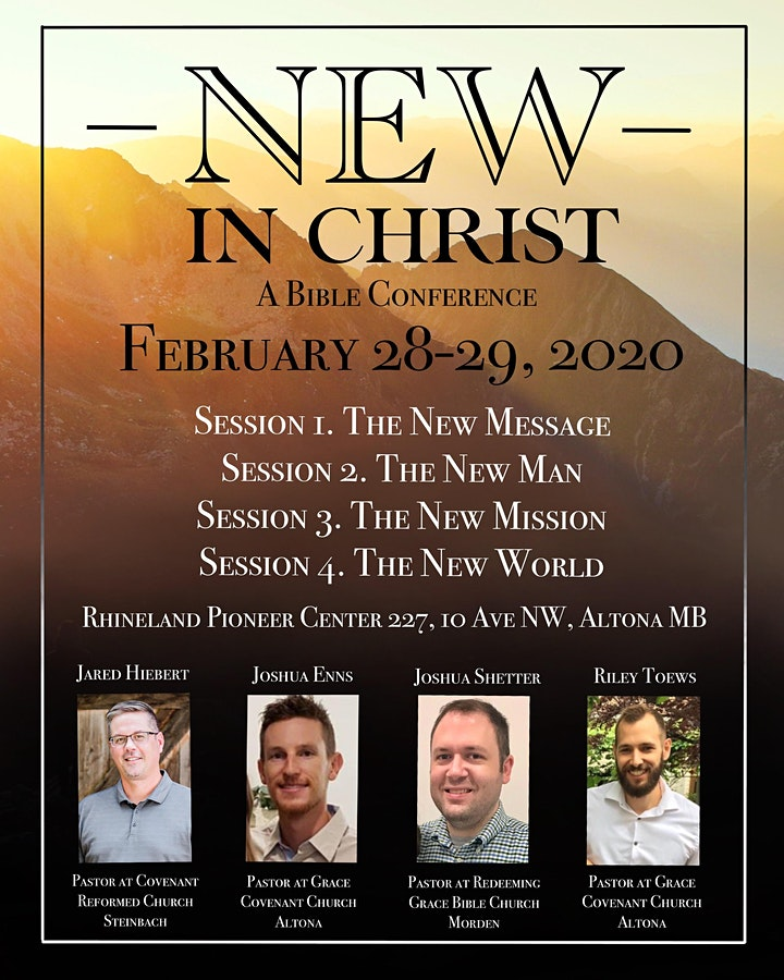 NEW IN CHRIST CONFERENCE image