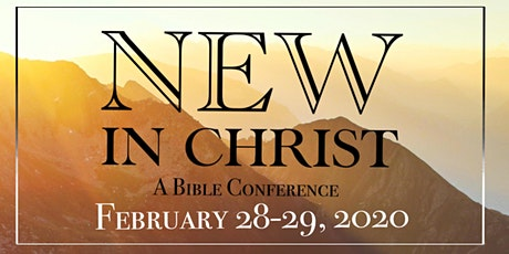 NEW IN CHRIST CONFERENCE tickets