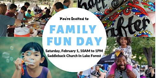 Family Fun Day with Food and Activities!