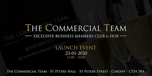 The Commercial Team Business Club and Hub Launch Event