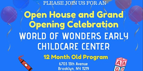 Grand Opening and Open House tickets