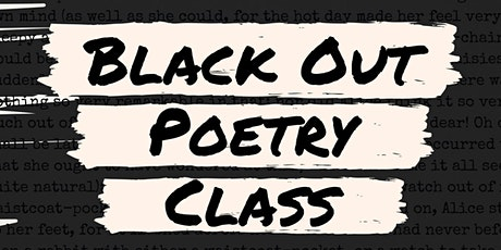 BlackOut Poetry tickets