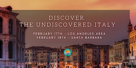 ASTA On The Go: Discover the Undiscovered Italy! (Los Angeles Area) tickets