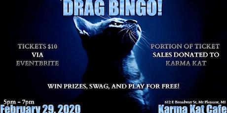 DRAG BINGO AT KARMA KAT CAFE! tickets