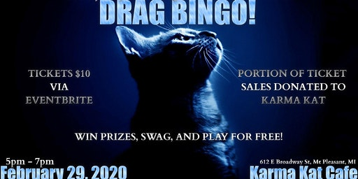 DRAG BINGO AT KARMA KAT CAFE!