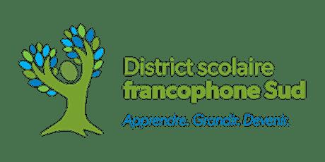 Séance d'orientation - suppléance en enseignement au DSFS (Dieppe) billets