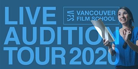 VFS Acting Program Live Audition Tour | Vancouver tickets