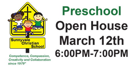 Preschool Open House tickets