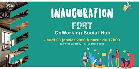 Inauguration du Fort CoWorking Social Hub billets