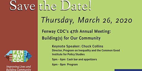 Fenway CDC Annual Meeting: Building(s) for Our Community tickets