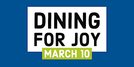 Dining for Joy tickets