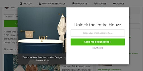 Business Club: Create your perfect Houzz profile (Putney) tickets