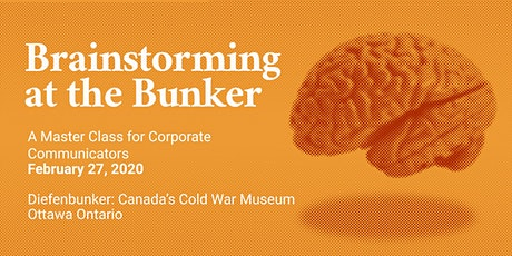 Brainstorming at the Bunker tickets