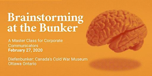 Brainstorming at the Bunker