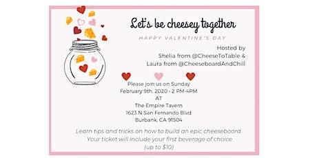 Valentines Day Cheeseboard Workshop tickets