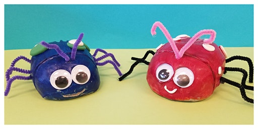 Doodlebugs & Flutterbys Weekly Class with Kidcreate On-The-Go Studio (18m-6y)