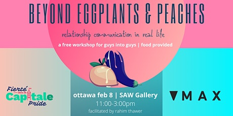 Beyond Eggplants & Peaches: Relationship Communication IRL tickets
