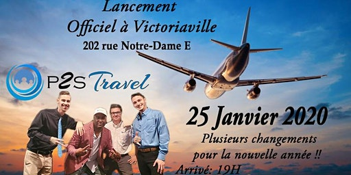 P2S Travel Lancement Officiel