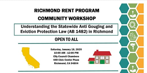 2020 Richmond Rent Program Community Workshops
