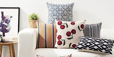 Sew a Decorative Pillowcase tickets