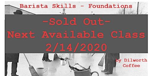 Barista Skills- Foundations
