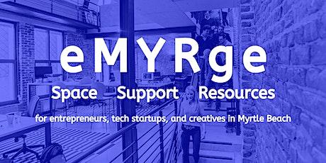 eMYRge - Entrepreneur, Tech, and Creative Social tickets