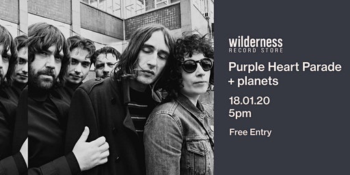 Purple Heart Parade + planets