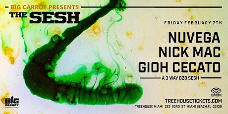 The Sesh @ Treehouse Miami tickets